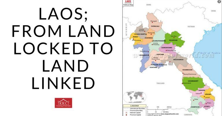 Laos; From Land Locked To  Land Linked