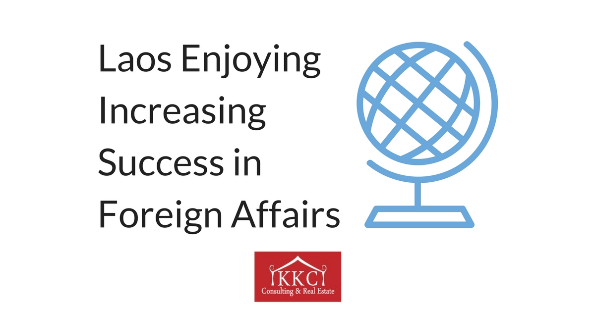 Laos Enjoying Increasing Success in Foreign Affairs