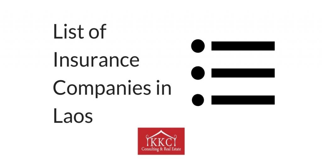 List of Insurance Companies in Laos